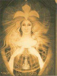 22 jul 09 Moon Lodge op het Feest van Maria Magdalena