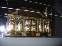 het reliekschrijn van Hildegard von Bingen dat we zullen bezoeken